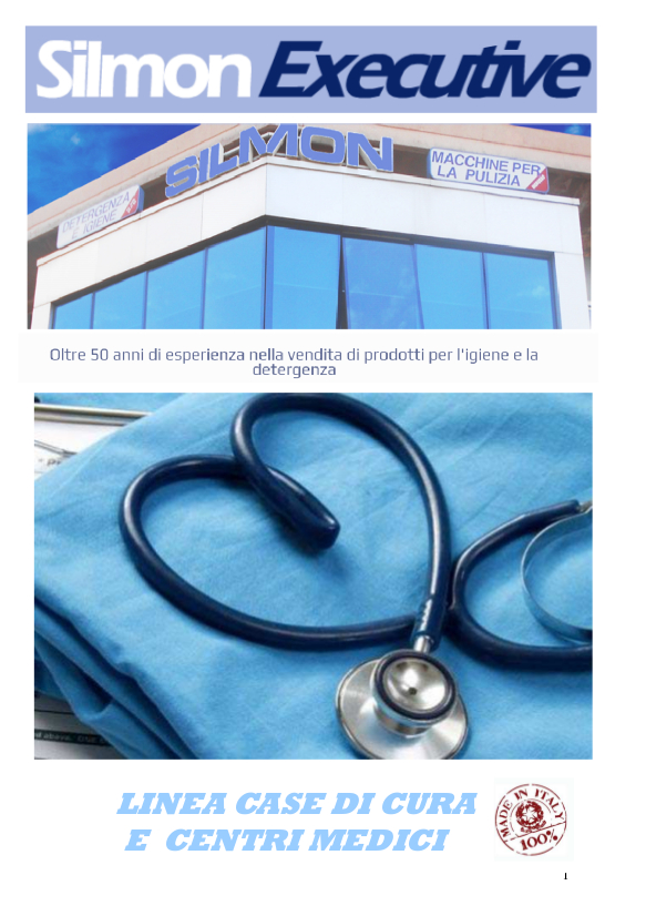 copertina catalogo silmon executive casa di cura