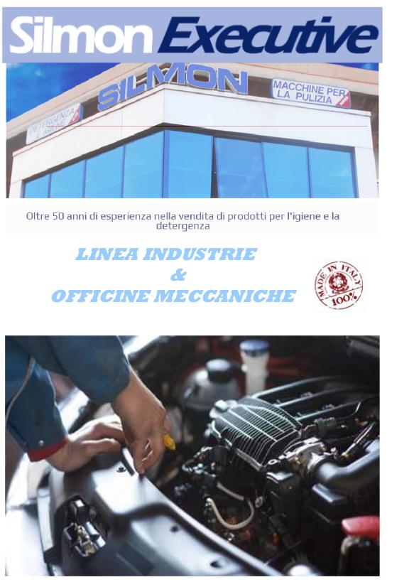 copertina catalogo silmon executive industrie e officine