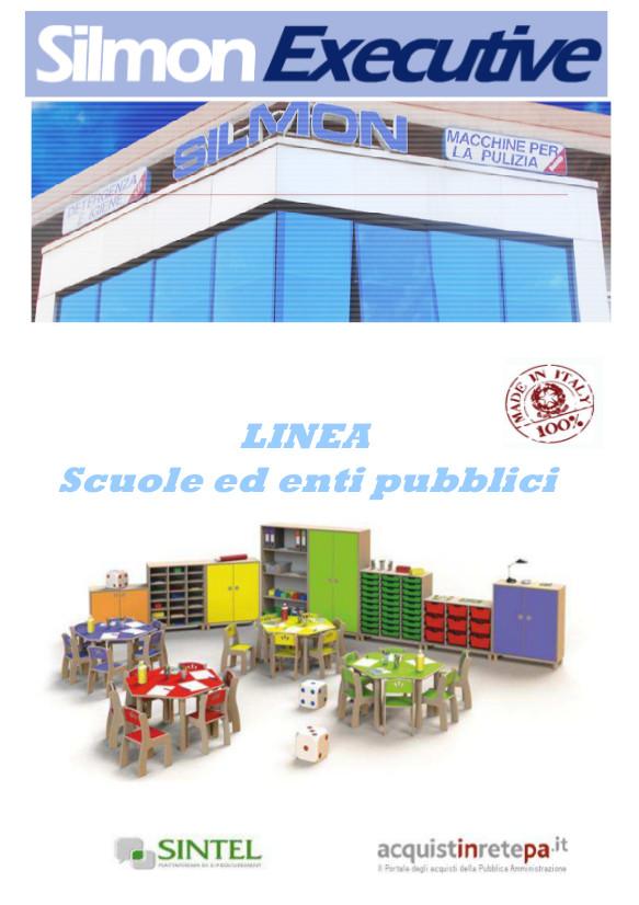 copertina catalogo silmon executive scuole ed enti pubblici